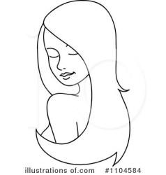 hair clipart beauty clip illustration rf royalty rosie piter clipartpanda illustrationsof