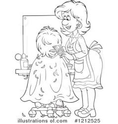 clipart hair stylist illustration alex royalty bannykh rf