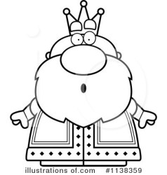 King Clipart #1138359 Illustration by Cory Thoman