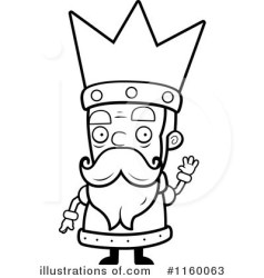 King Clipart #1160063 Illustration by Cory Thoman
