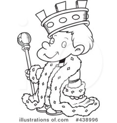 King Clipart #438996 Illustration by toonaday
