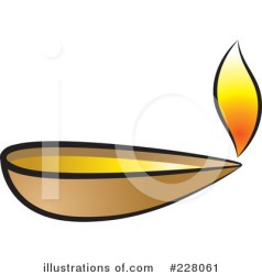 Lamp Clipart #228061 Illustration by Lal Perera