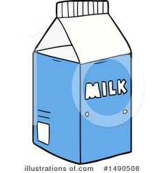 milk clipart carton lineartestpilot rf illustrationsof