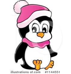 penguin clipart clip printable penguins christmas royalty illustration rf panda visekart batman clipartmag categories