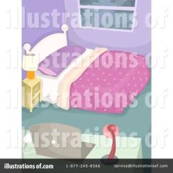 Bedroom Clipart #1298985 Illustration by BNP Design Studio