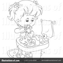 teeth brushing clipart illustration bannykh alex royalty sample rf