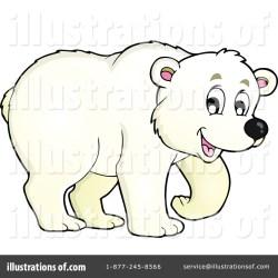 polar bear clipart visekart rf