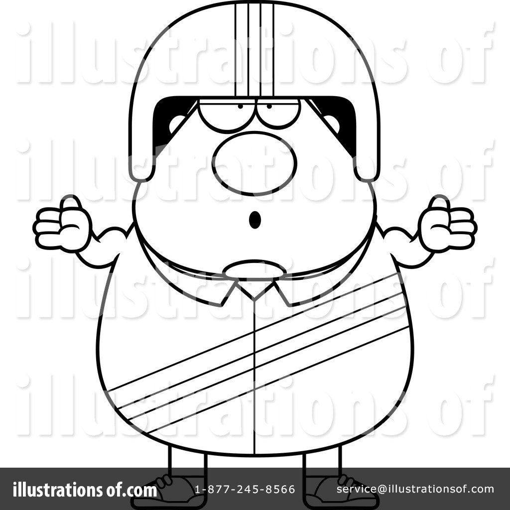 Racing Driver Clipart