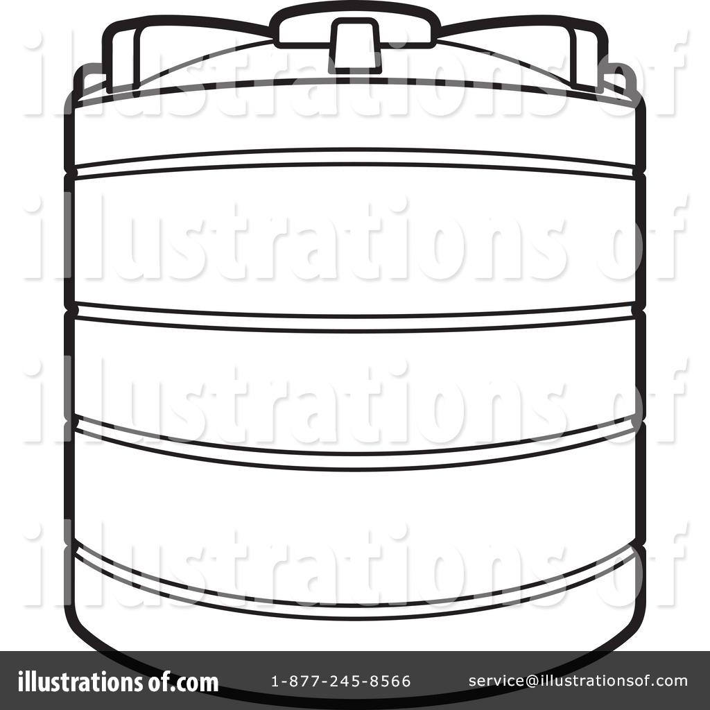 Clip Art Of Water Tanks