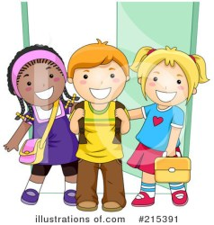 clipart classroom students clip outside illustration task royalty cliparts library bnp studio rf alphabet lets learn