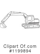 Trackhoe Clipart : trackhoe, clipart, Track, Clipart, Royalty-Free, Illustrations