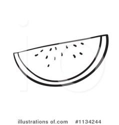 watermelon clipart illustration royalty rf graphics cart illustrationsof