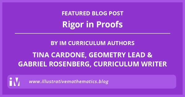 Rigor in Proofs Blog