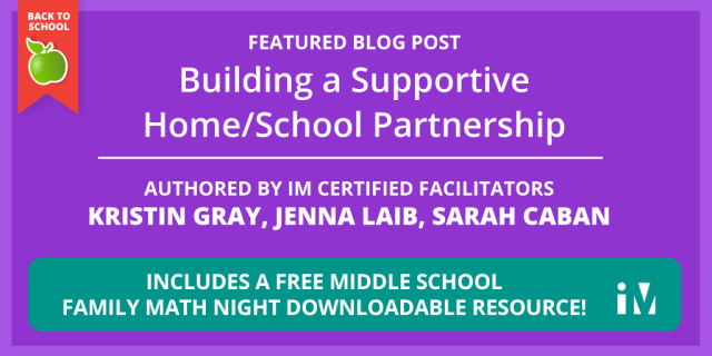 Building a Supportive Home/School Partnership