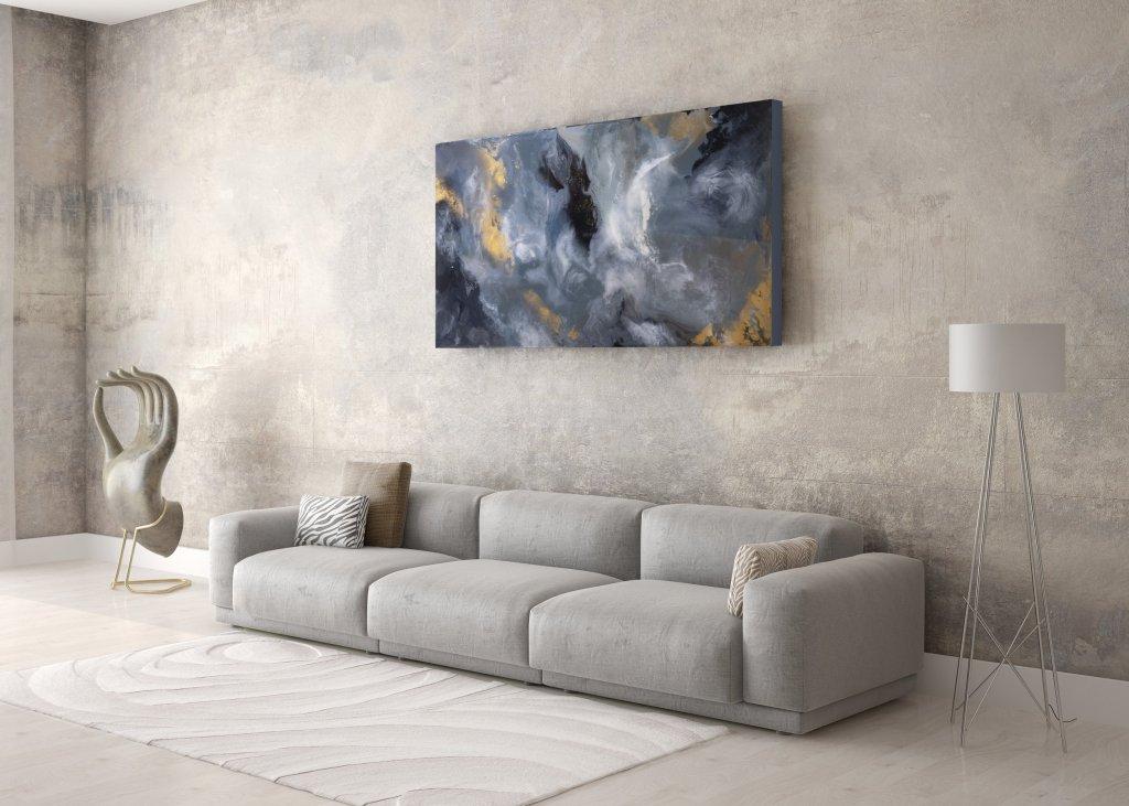 Illyra by Frankie Hsu - Tempest Resin Painting