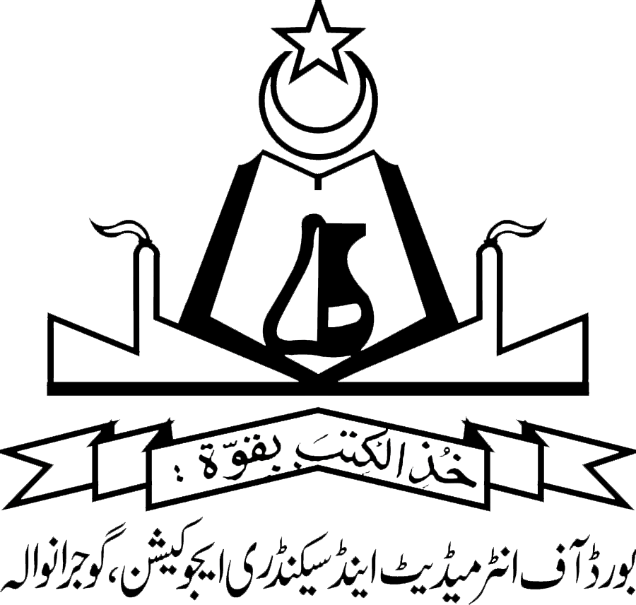 BISE Gujranwala Board Date Sheet 9th Class 2019