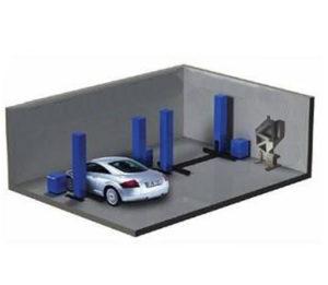 Отопление гаража, сто