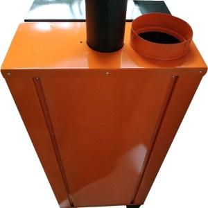 Пиролизный котел на древесных гранулах ilmax air