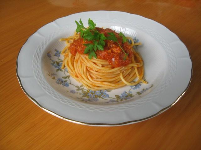 Spaghetti in 5 minuti