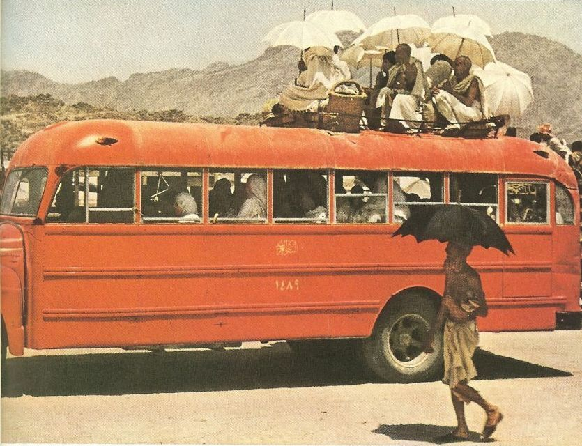 bus for hajjis