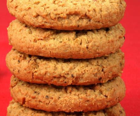 Biscotti all'avena senza zucchero