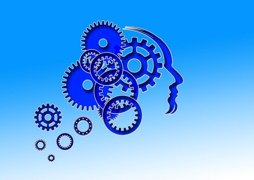 head, brain, man