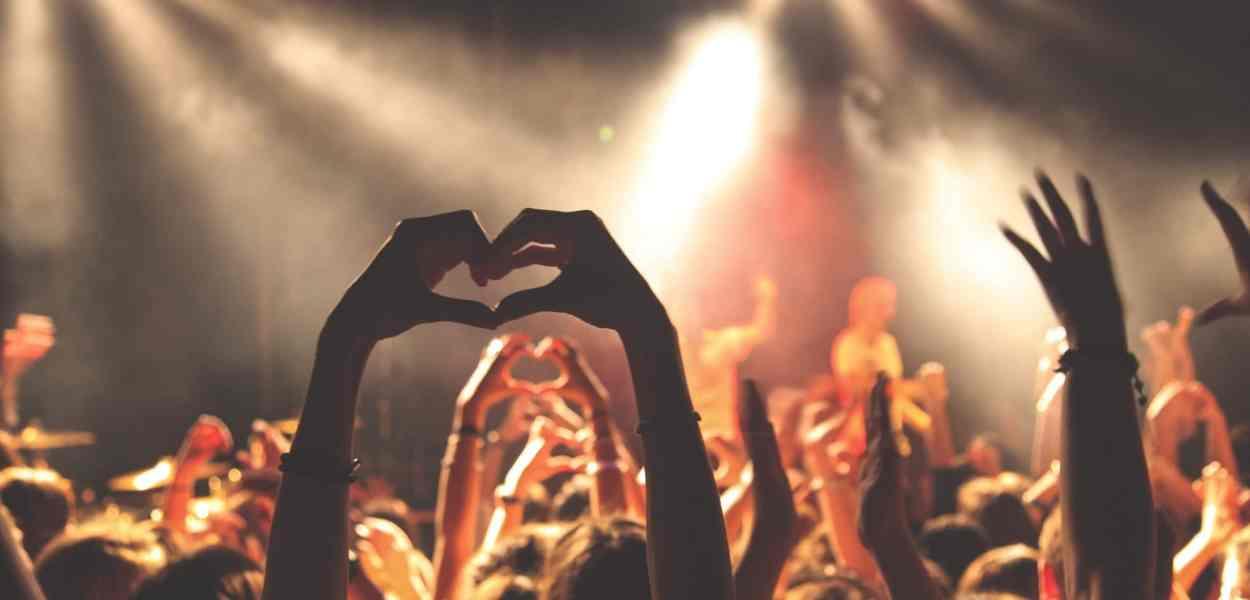 concert, crowd, audience