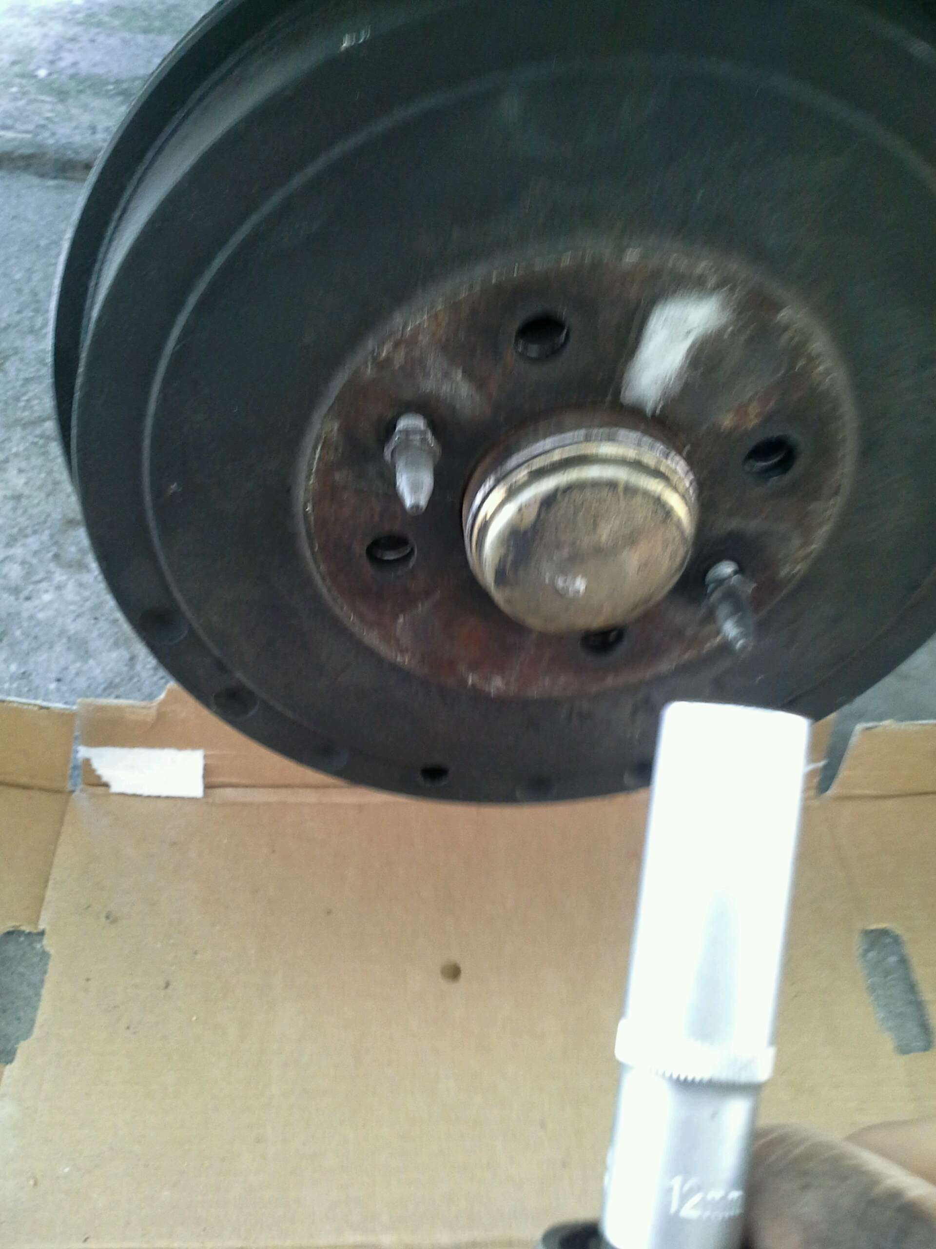 DIY sostituire ganasce e cilindretti freni a tamburo Fiat multipla