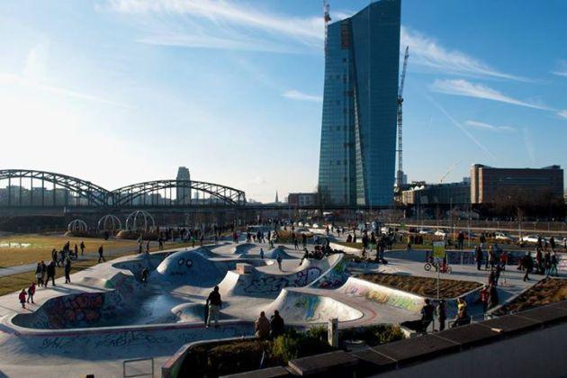 Il grattacielo della nuova BCE. Foto Alessandro Grassi / Il Mitte