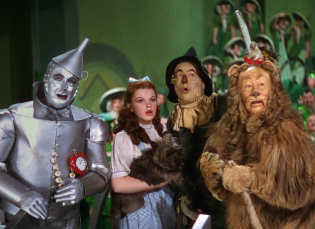 """The Wizard Of Oz"" in Technicolor"