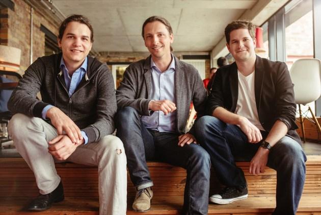 Founding Team-Photo by Max Threlfall