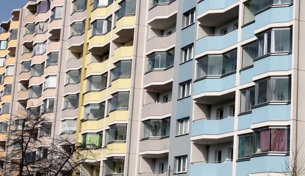 Edilizia residenziale in Landsberger Allee
