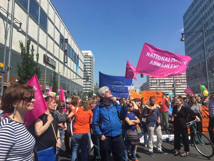 ein europa für alle - nationalismus abwählen