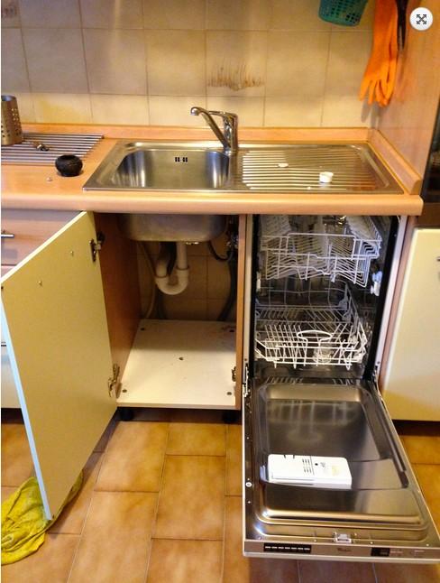 lavastoviglie da incasso a scomparsa totale  Il mondo della lavastoviglie
