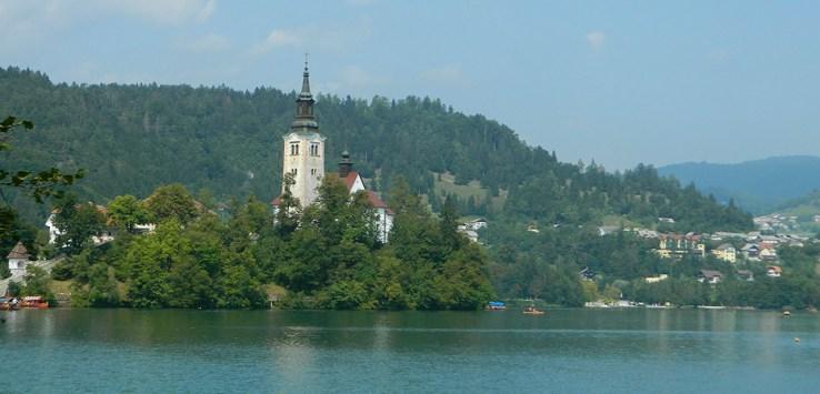 viaggio in slovenia lago di bled