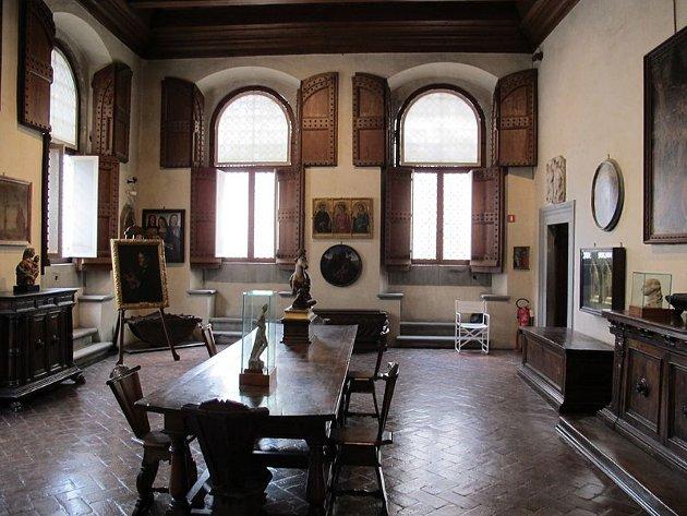 alla vita pubblica le camere private erano piccole e scomode