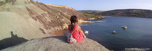 panorama spiaggia Malta