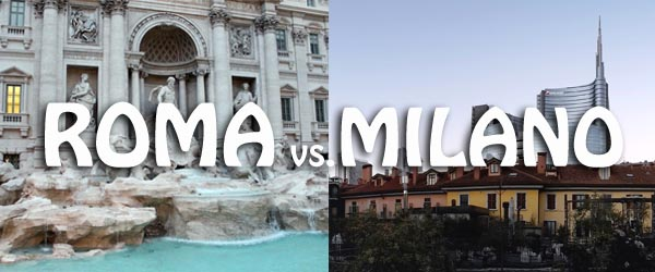differenze tra città roma e milano