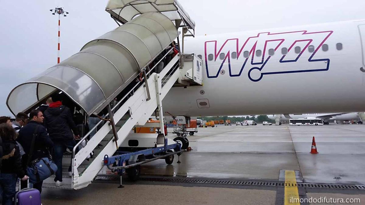 WizzAir: attenti al bagaglio a mano!