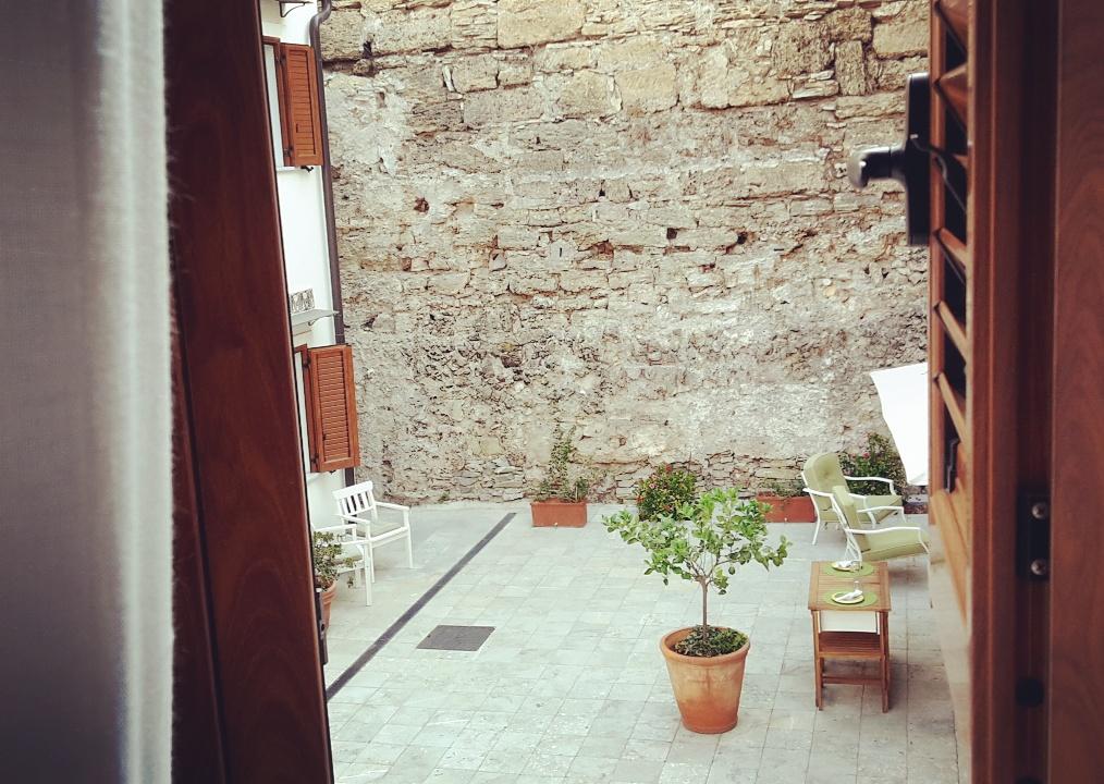 Il buongiorno dal cuore di Palermo presso Baglio San Giovanni