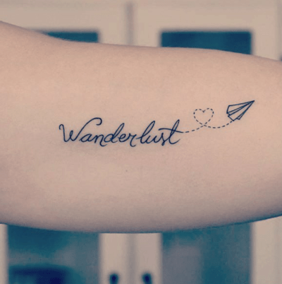 wanderlust tatoo