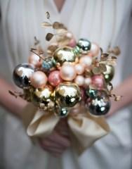christmas bulb bouquet vertical