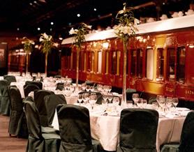 platform dinner - standard table dress