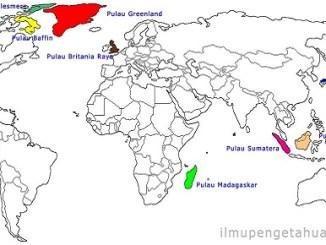 10 pulau terbesar di dunia