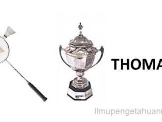 Kejuaraan Bulutangkis dunia Piala Thomas
