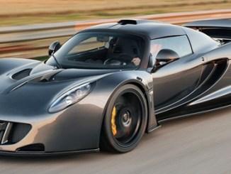 10 Mobil tercepat di Dunia tahun 2015 (Hennessey Venom GT)