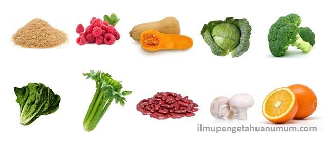 10 Makanan yang Mengandung Serat Tertinggi