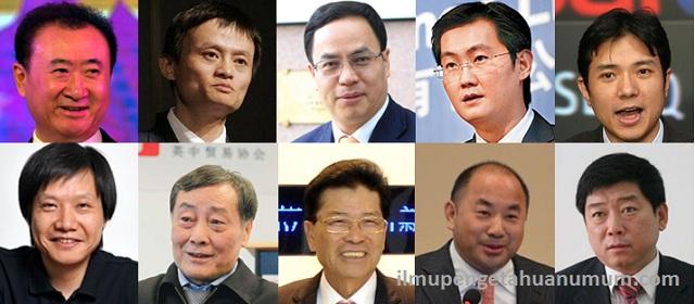 10 Orang Terkaya di China (Tiongkok)