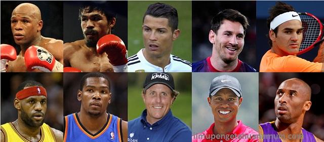 10 Atlet Terkaya di Dunia berdasarkan bayarannya