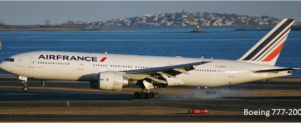Pesawat Terbang Penumpang Sipil Boeing 777-200